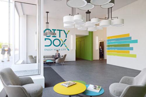 City dox: Hall d'entree