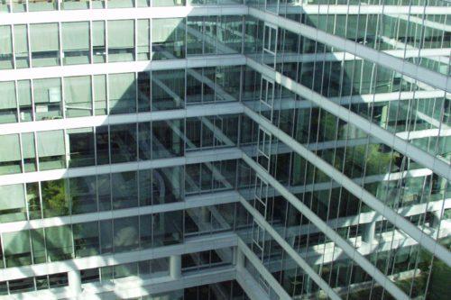 Silver façades intérieures